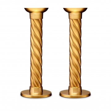Candlesticks - Large (Set of 2) - Gold