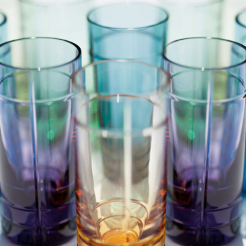 Coffret de 6 verres à shot assortis / Set of 6 assorted shot glasses