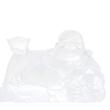 HAPPY BOUDDHA BLANC WHITE HAPPY BUDDHA