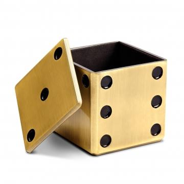 Dice Decorative Box_Gold